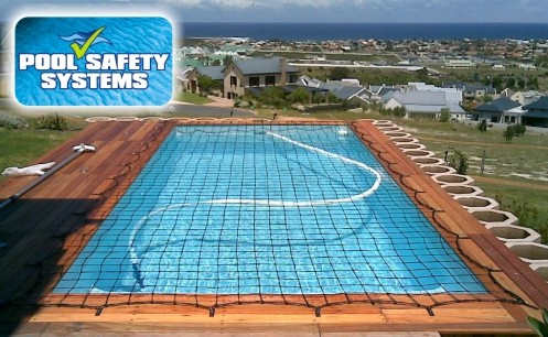 Pool nets covers and safety fences hermanus overberg south africa for Swimming pool safety net covers